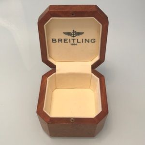 Breitling Burl Wood Box